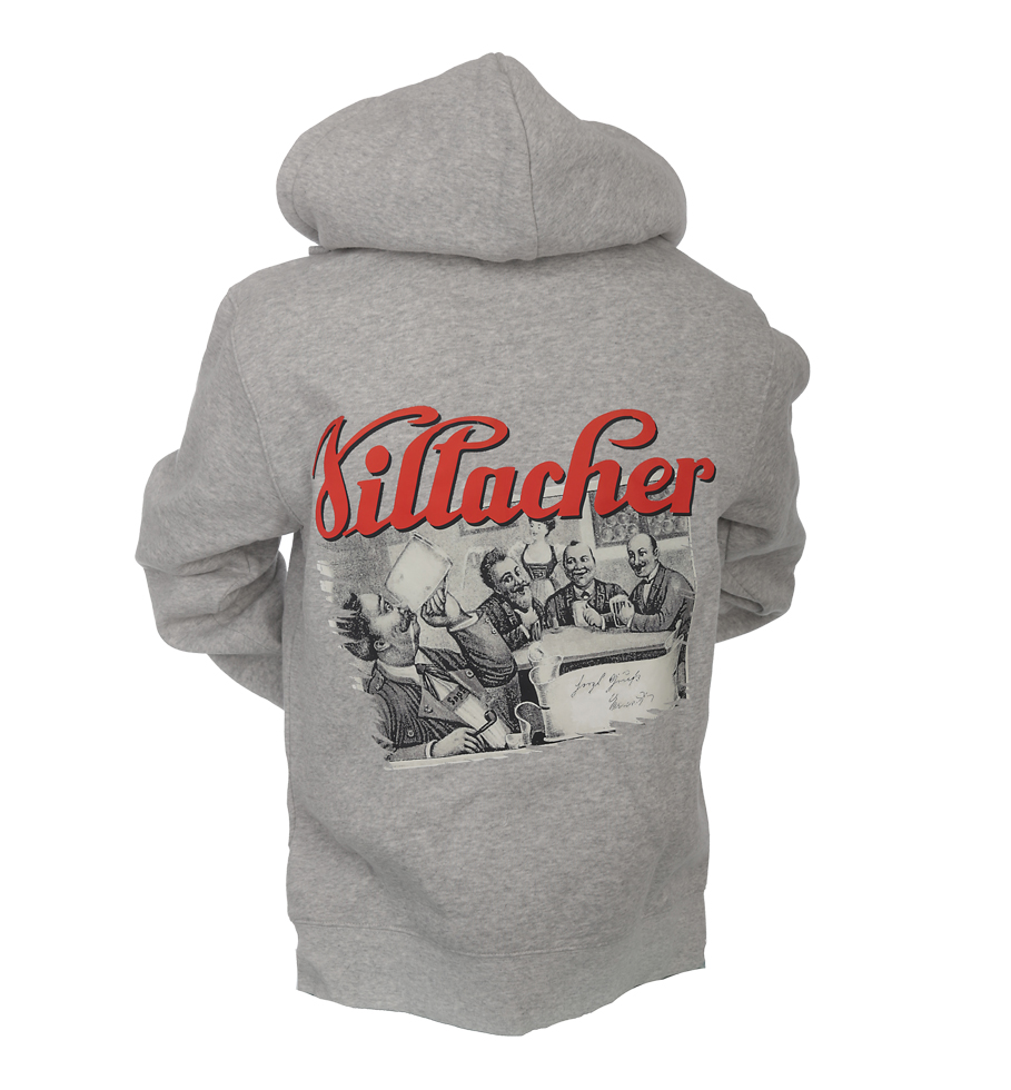 huge selection of e2735 1d8b6 Villacher Herren Hoodie grau
